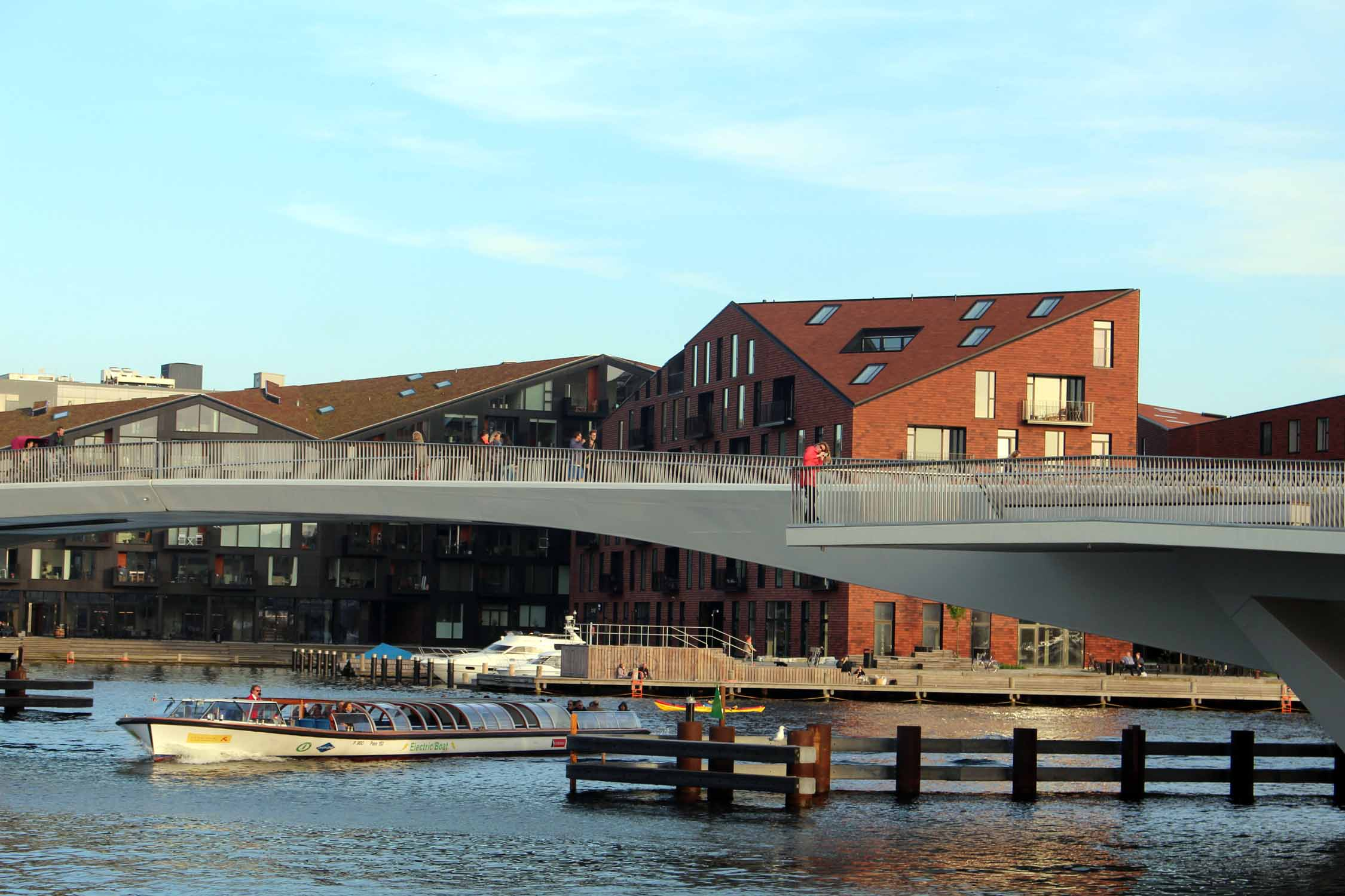 Copenhague, pont Inderhavnsbroen