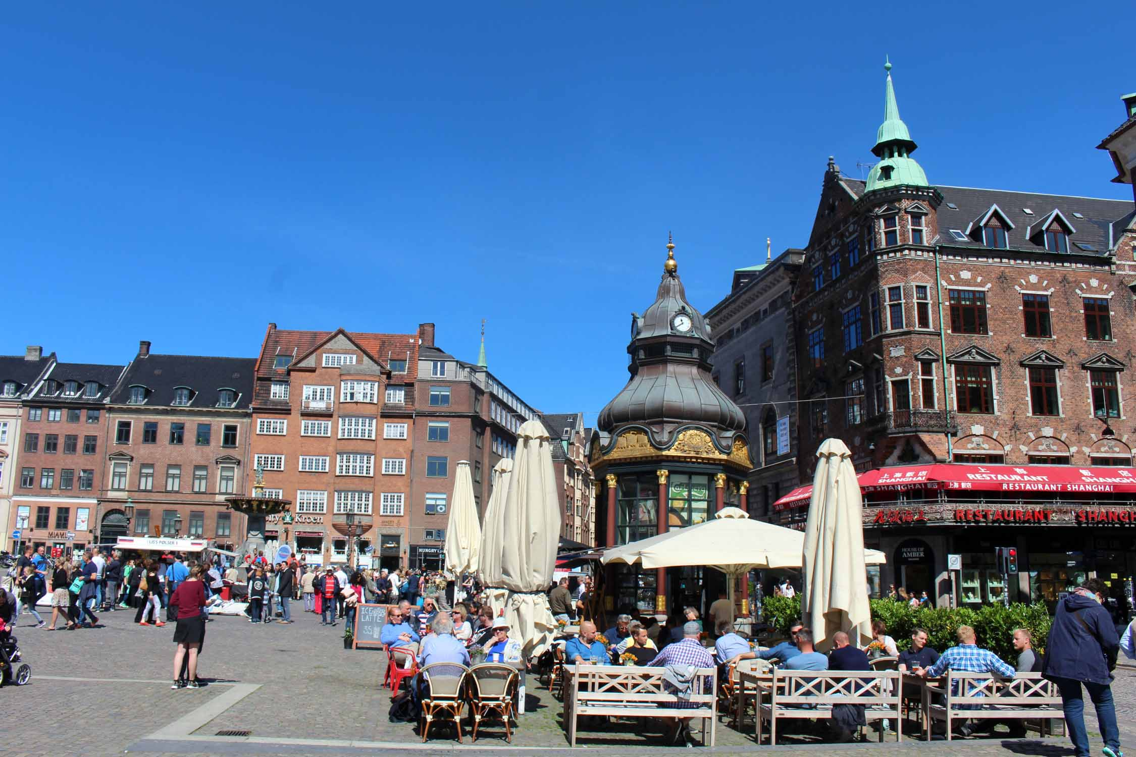 Copenhague, plaza Nytorv