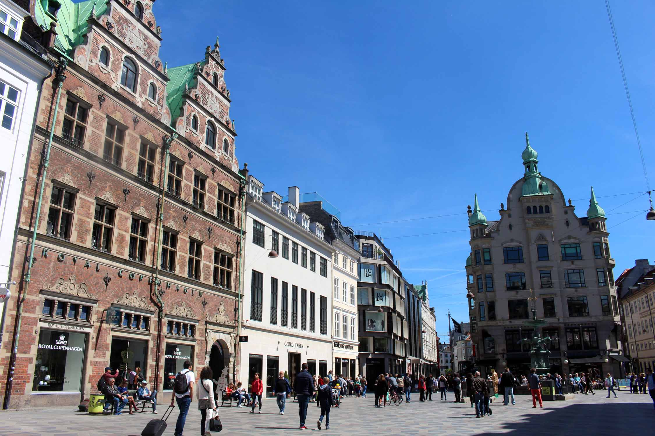Copenhague, place Amager