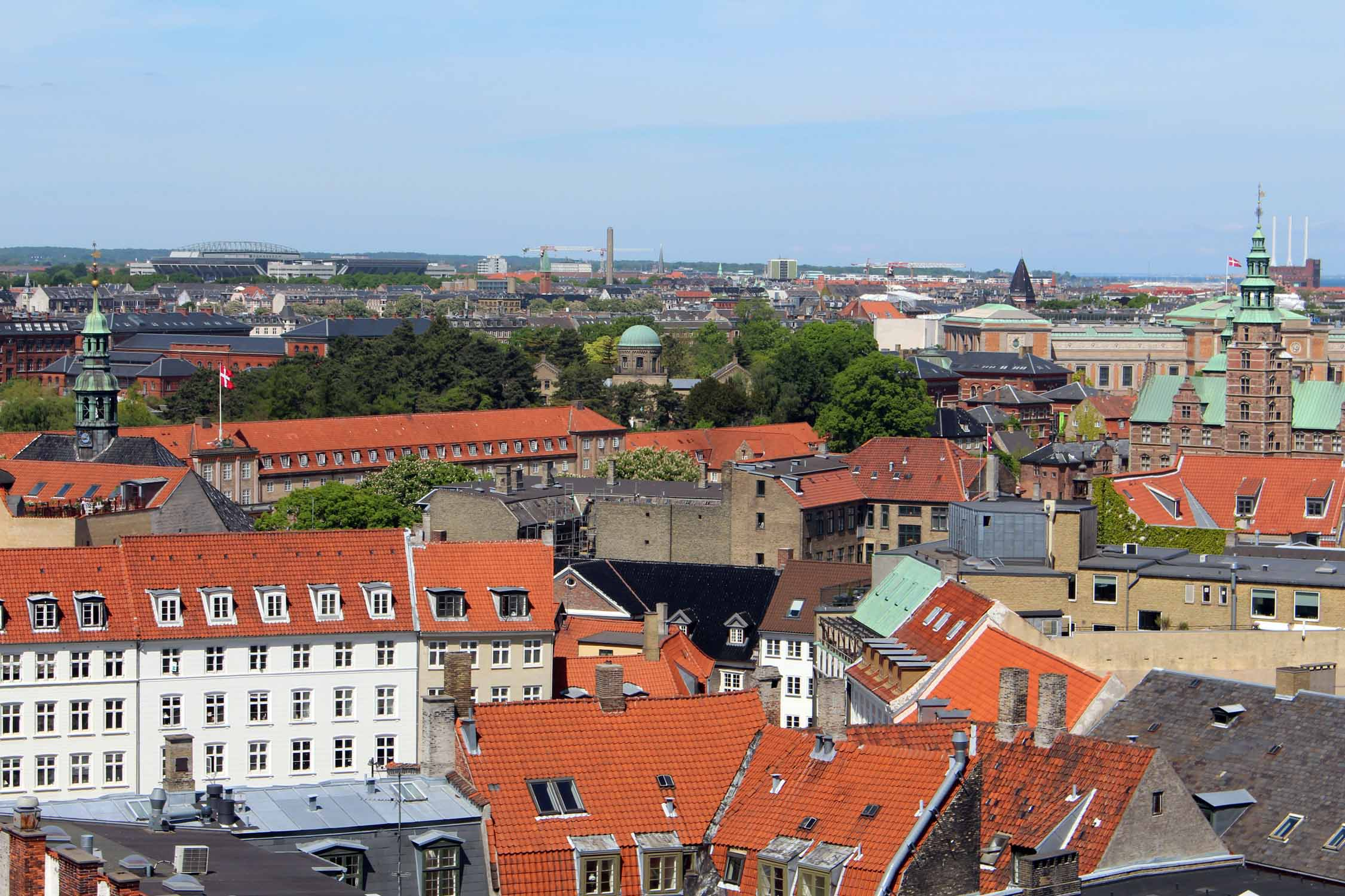 Copenhague, vista