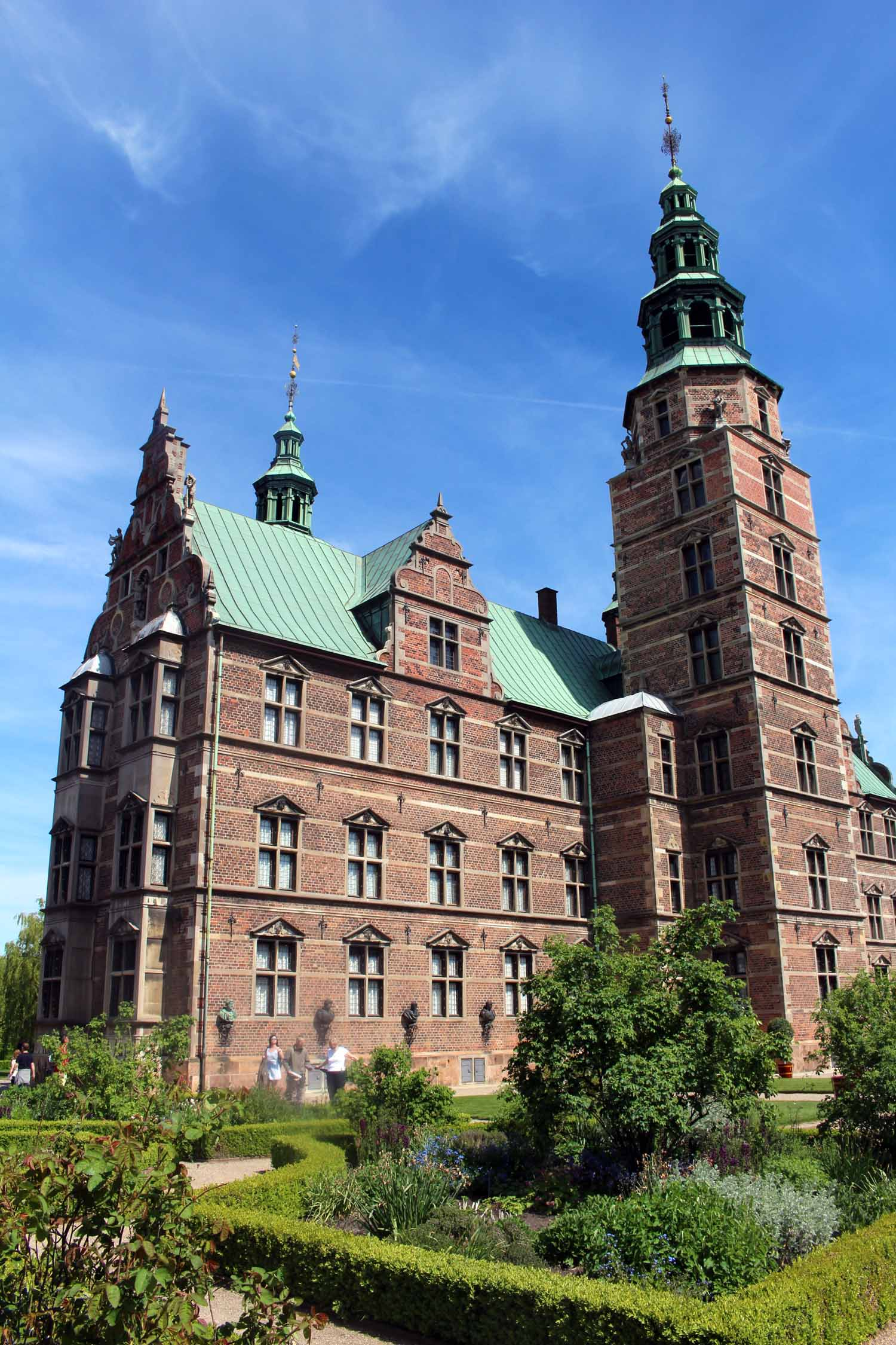 Copenhague, castillo real de Rosenborg