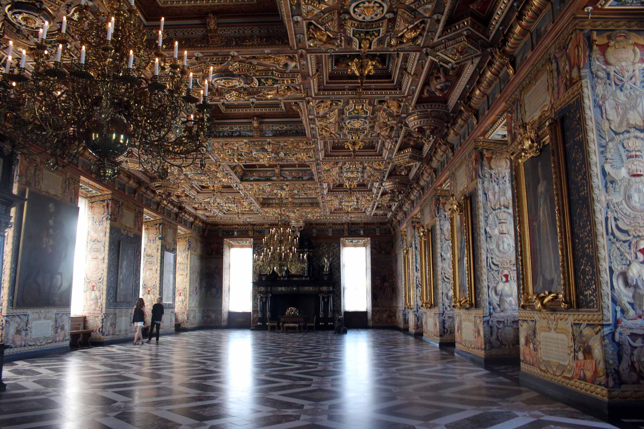 Frederiksborg castle, the Great Hall