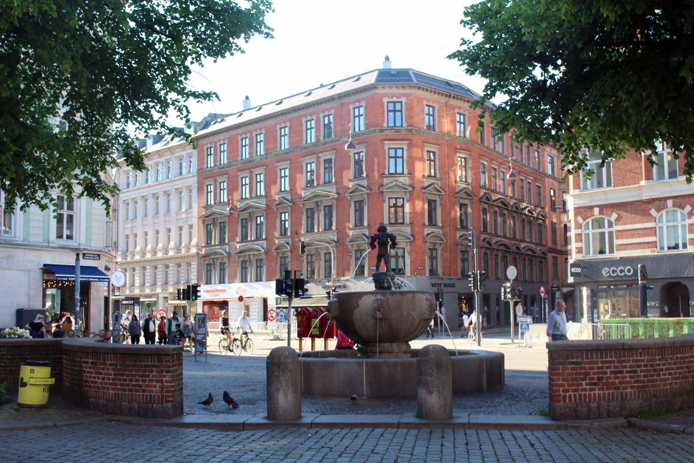 Copenhague, place Vesterbros