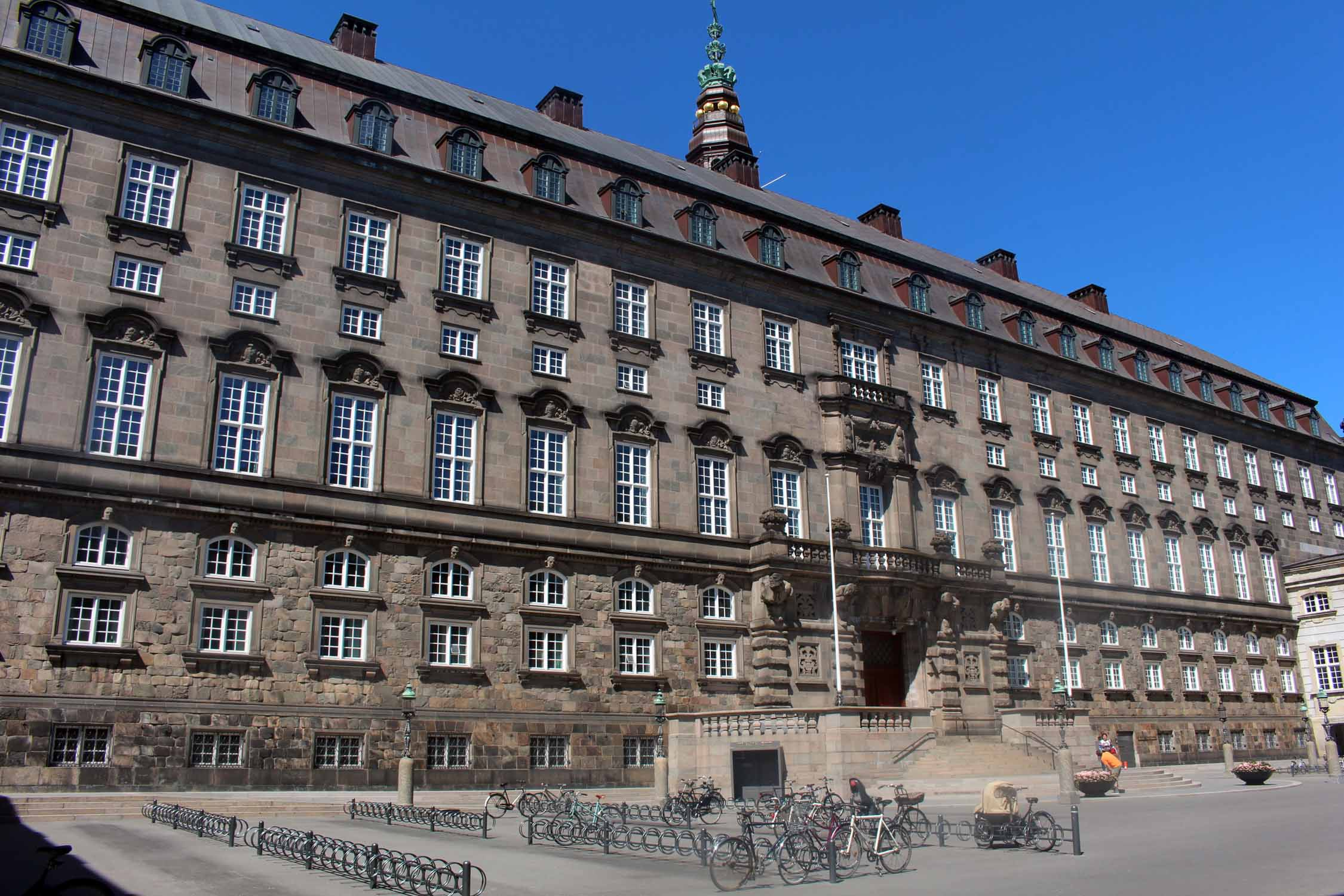 Copenhague, parlement danois