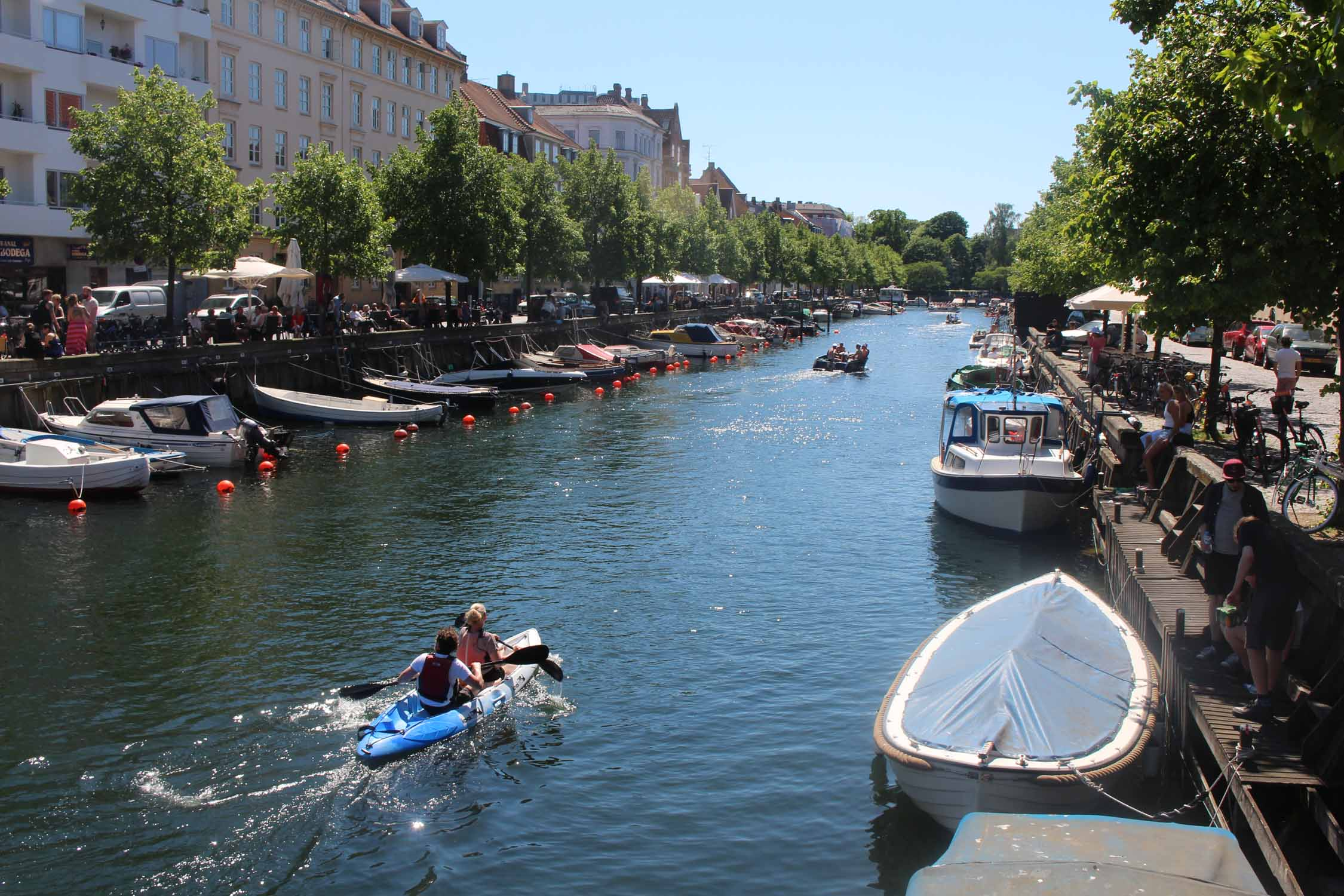 Copenhague, Christianshavn canal