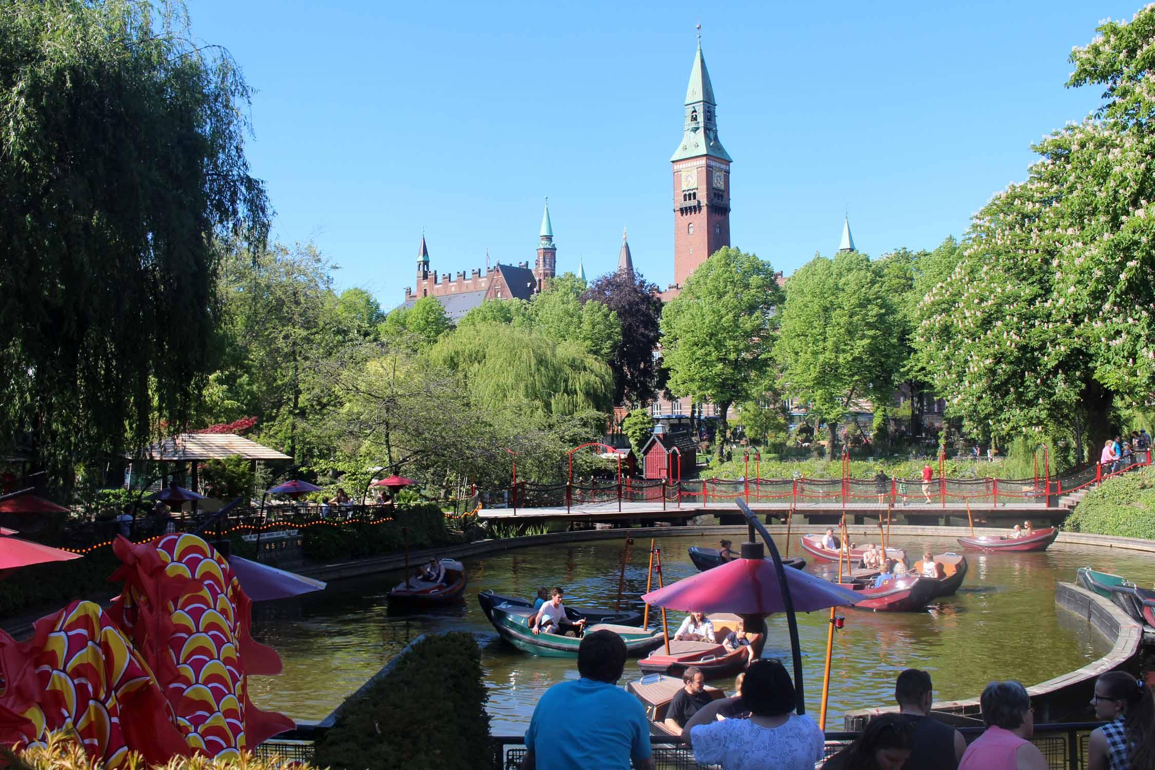 Copenhague Jardines De Tivoli