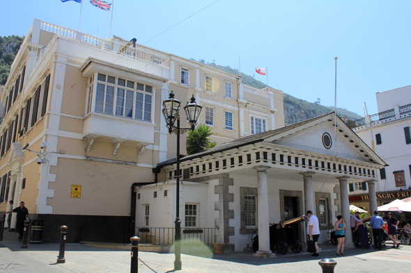 Gibraltar, residence of the governors