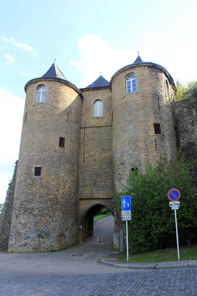 Luxembourg, gate Trois Tours