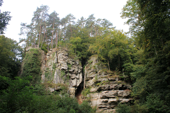 Luxembourg, gorges du Loup, paysage