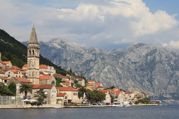 Perast, church, Montenegro