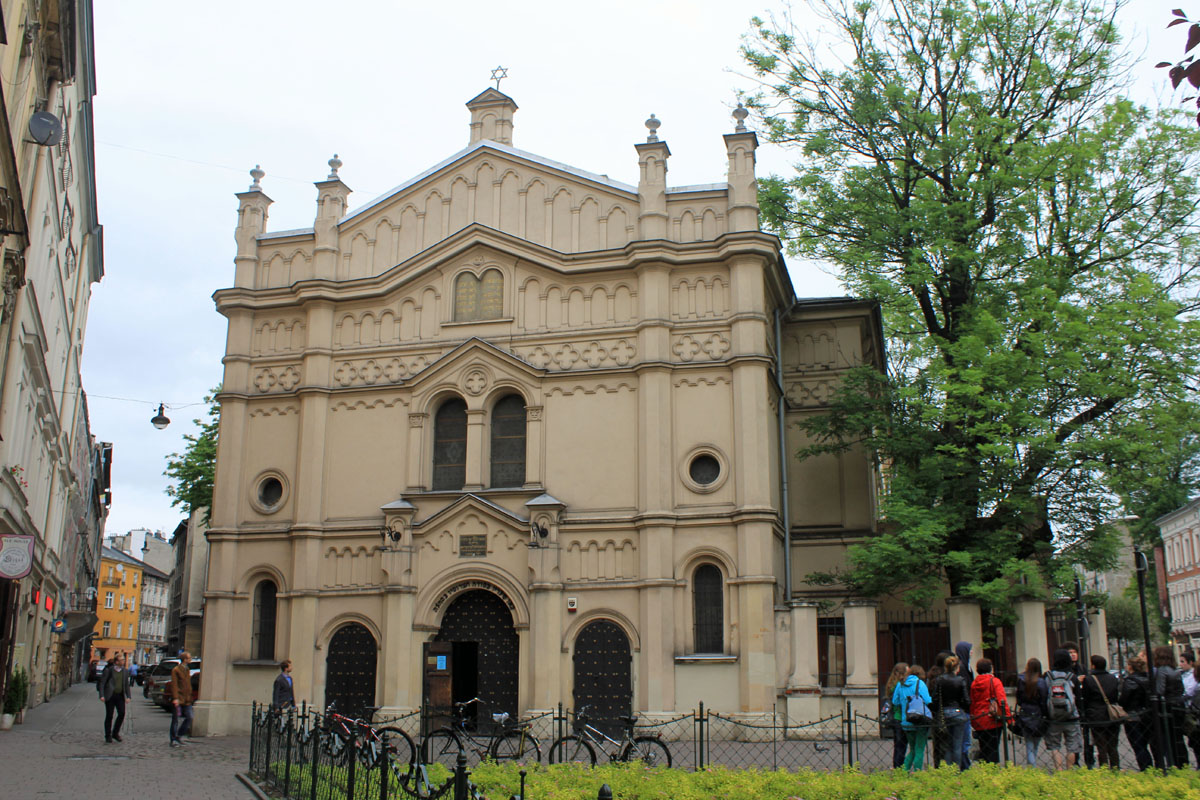 Cracovie, synagogue Tempel