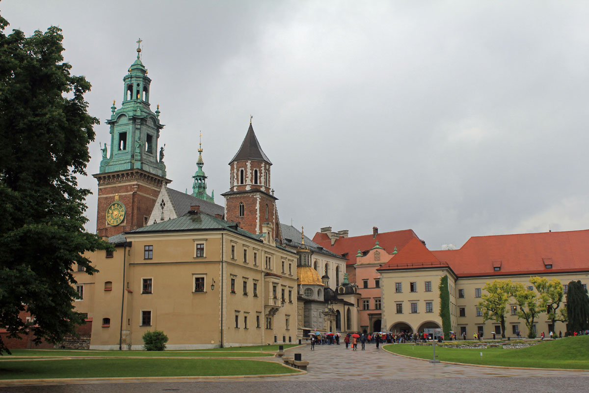 Cracovia, Castillo Real