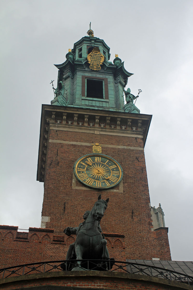 Krakow, Wawel cathedral, tower