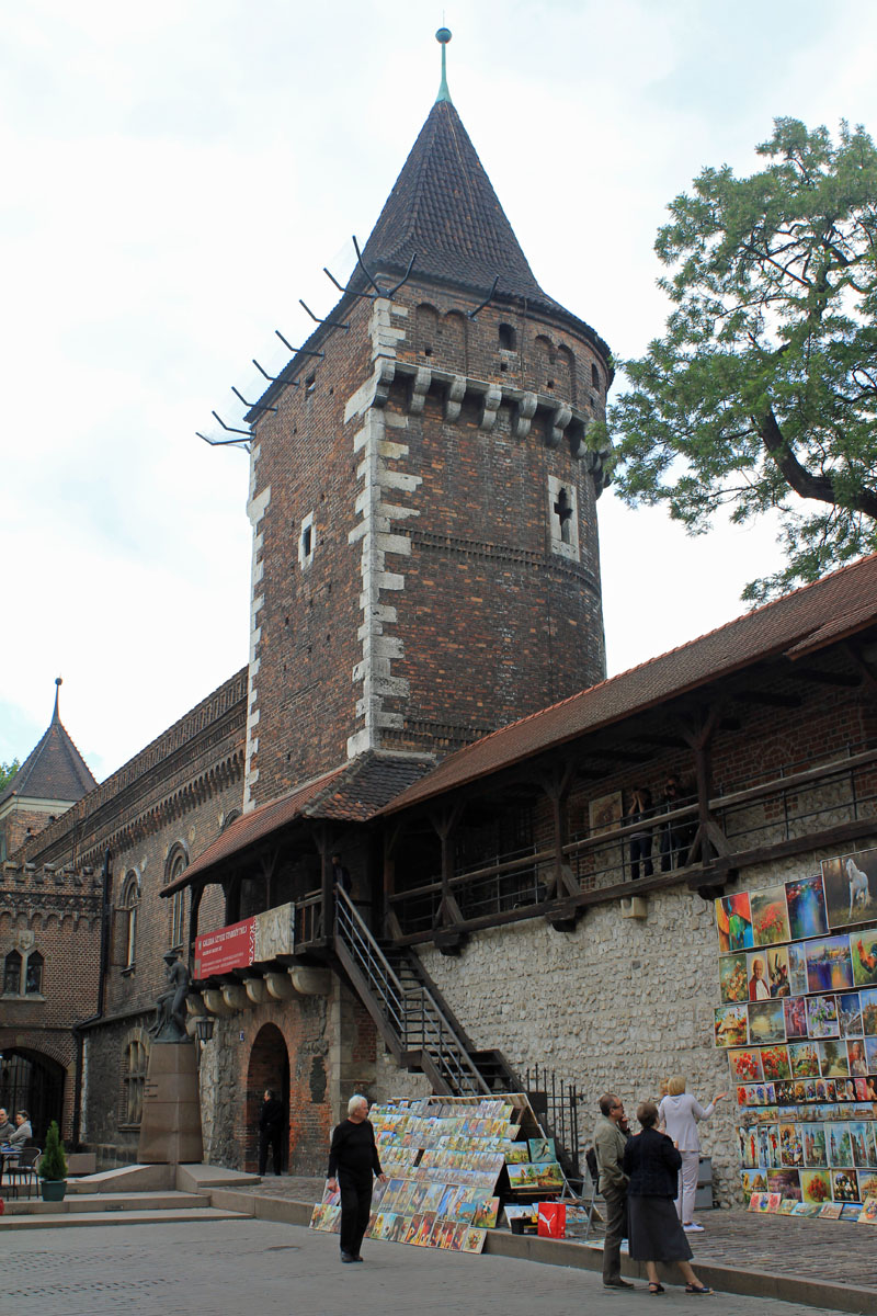 Krakow, walls, tower