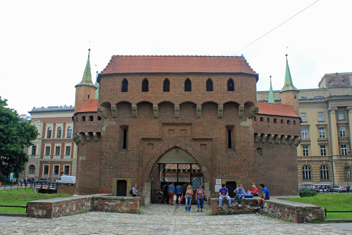 Cracovie, Barbacane