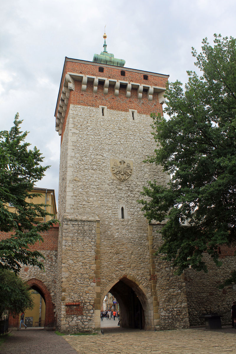 Krakow, Florian's tower