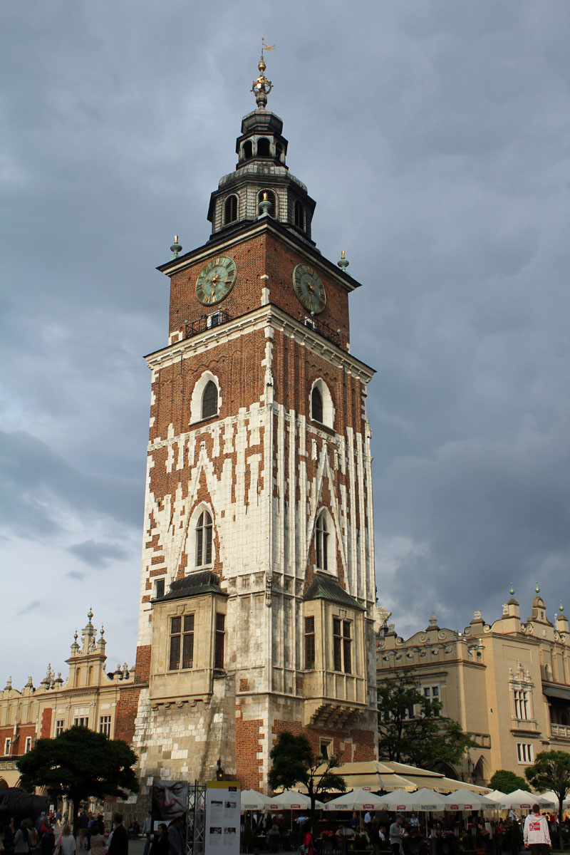 Krakow, City Hall, belfry