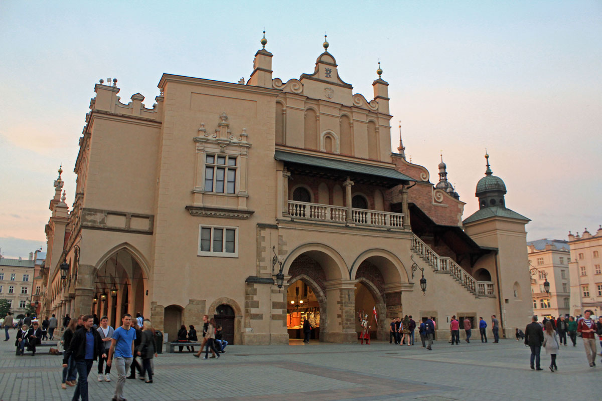 Krakow, Main Market square, Cloth Hall