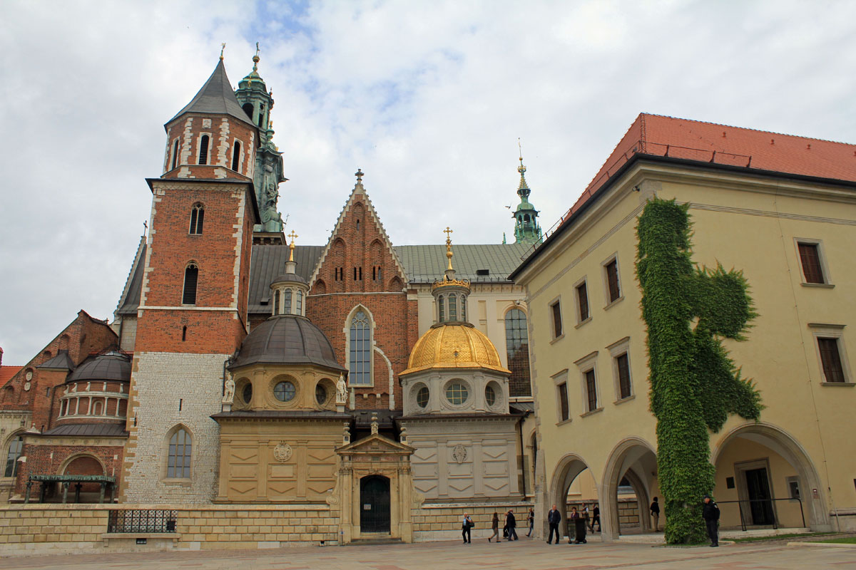 Cracovie, Château Royal, cathédrale