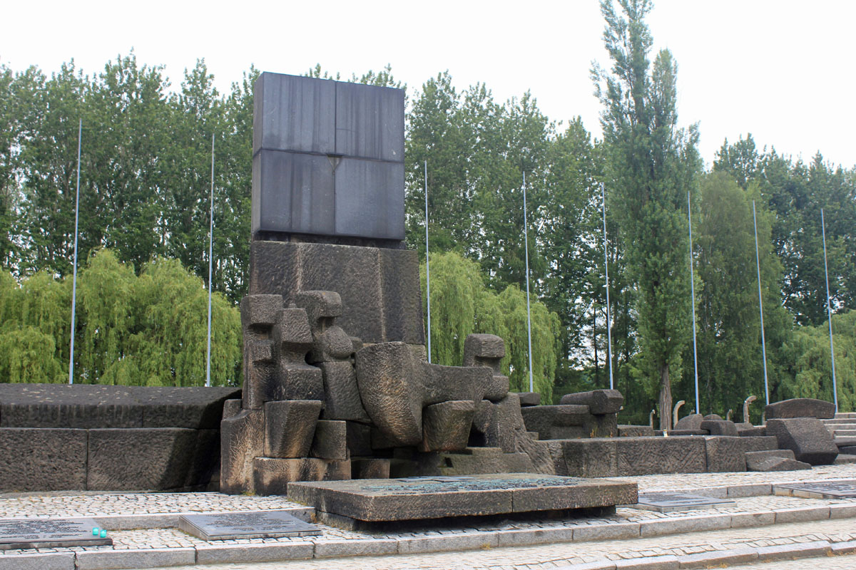 Birkenau, camp, Poland, monument