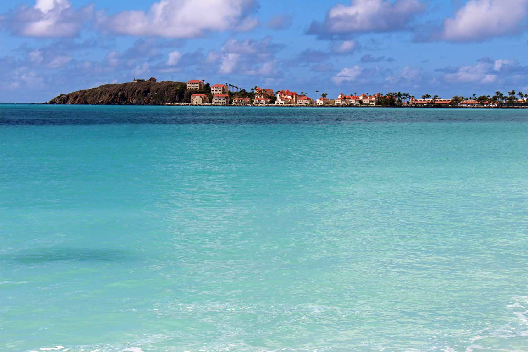 Saint-Martin island, Philispburg, turquoise see, Great Bay