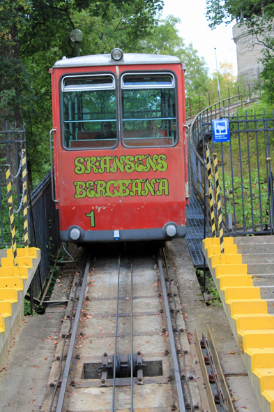 Skansen, funiculaire, Stockholm