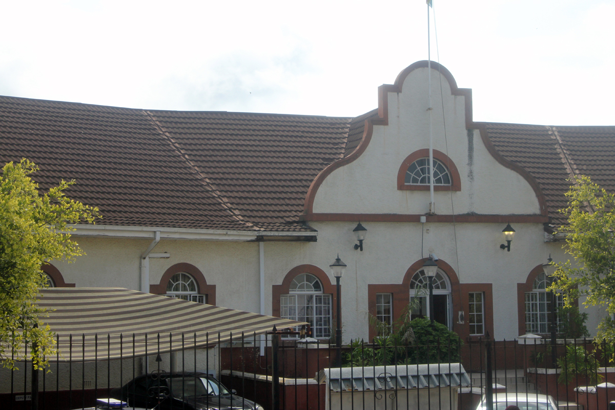 Mbabane, old building