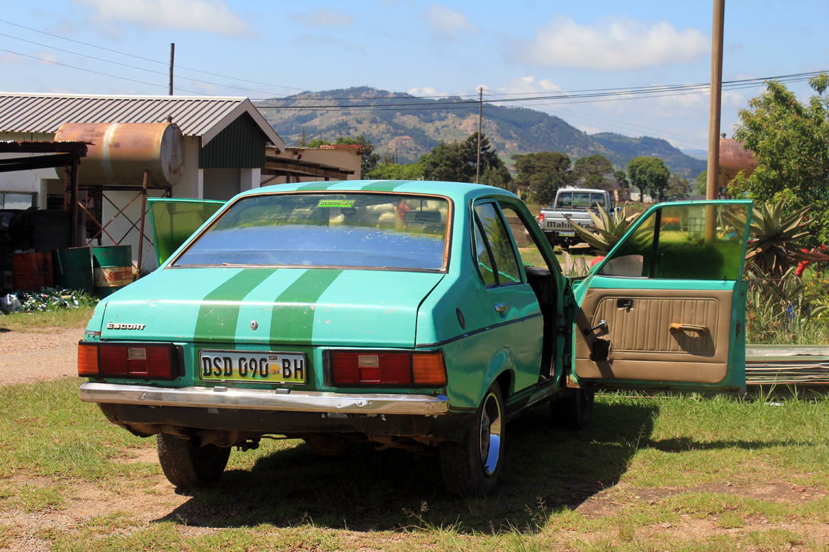 A car of Swaziland