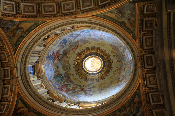 St. Peter, dome of Vignola, Vatican