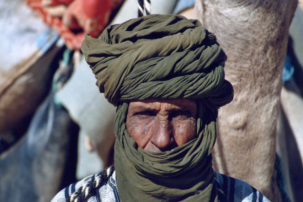Tuareg, blue men