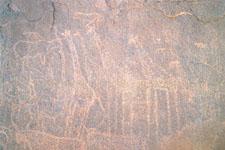 Grabado rupestre