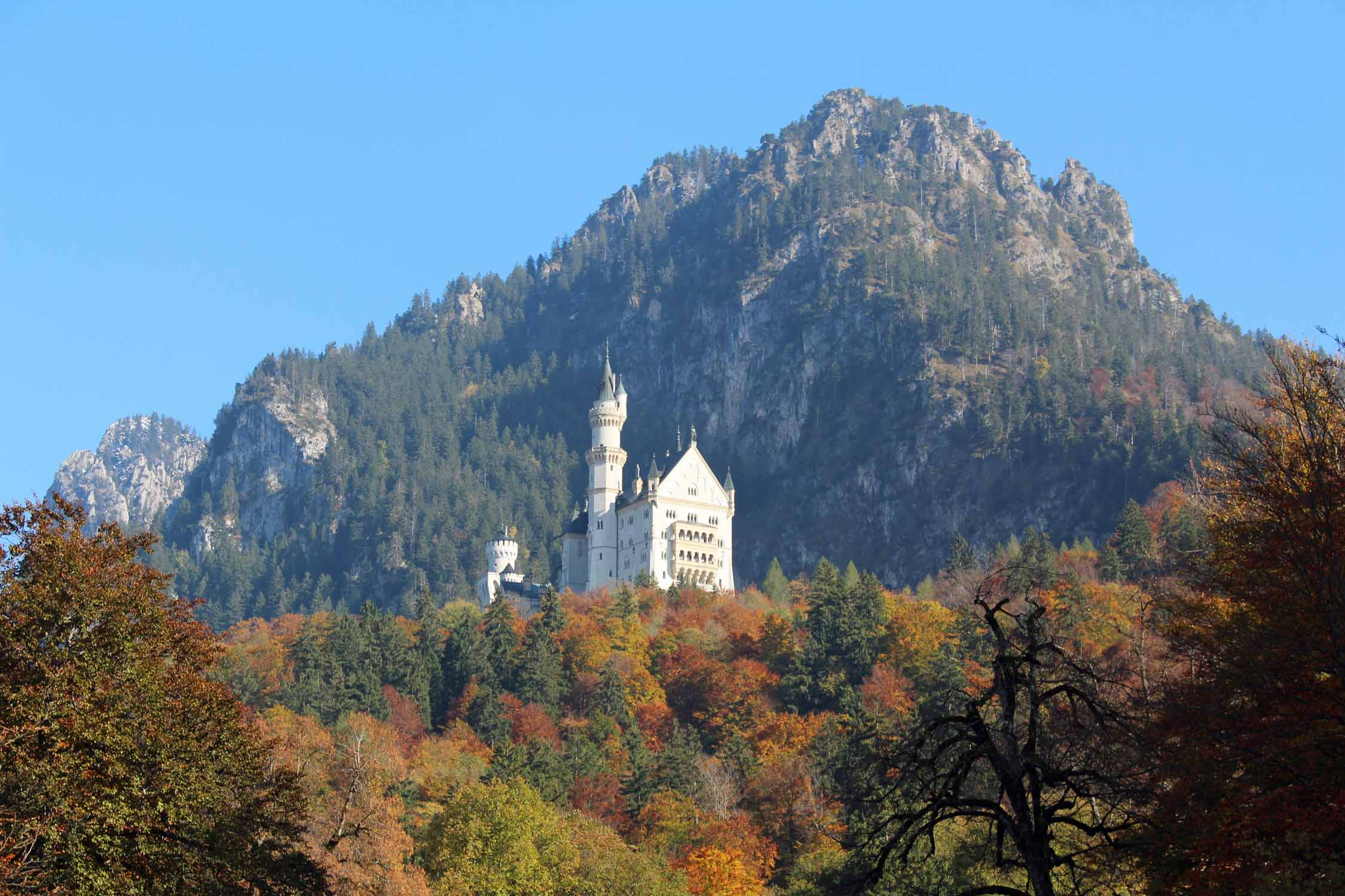 The beautiful castle of Neuschwanstein
