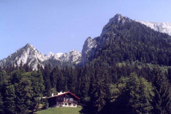 A chalet near Königssee, Germany