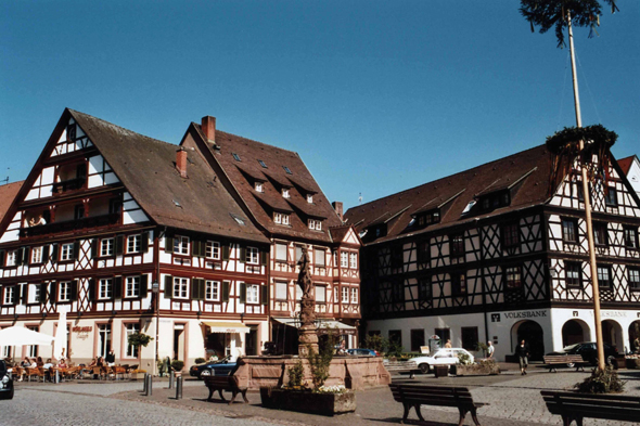 The old city of Gengenbach, Germany