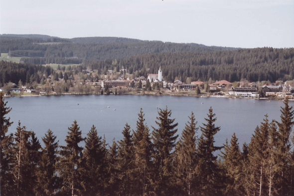 Titisee in Black Forest, Germany