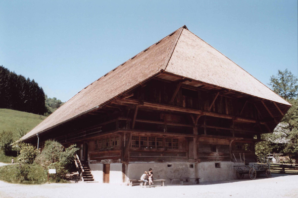 The open-air museum of Vogtsbauernhof, Germany