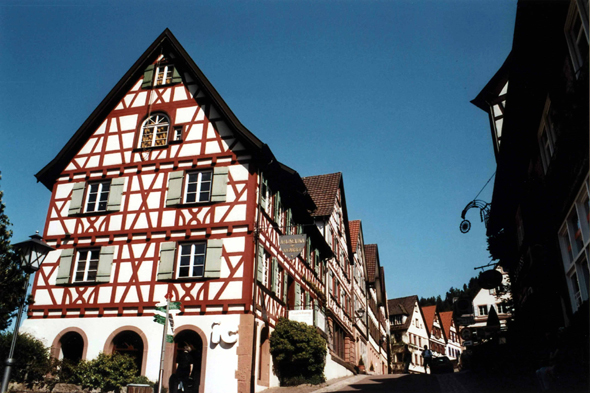 The picturesque city of Schiltach