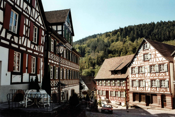 The beautiful village of Schiltach, Germany