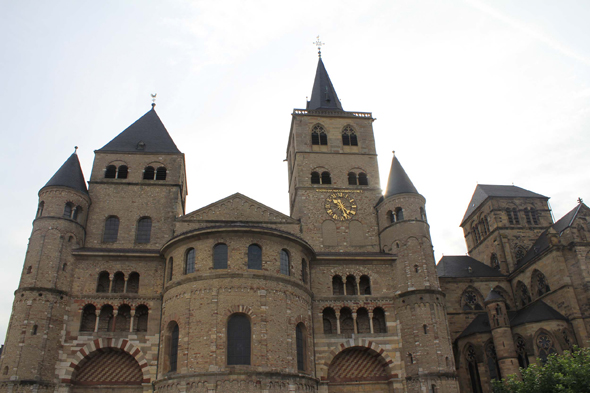 The Romanesque cathedral of Trier