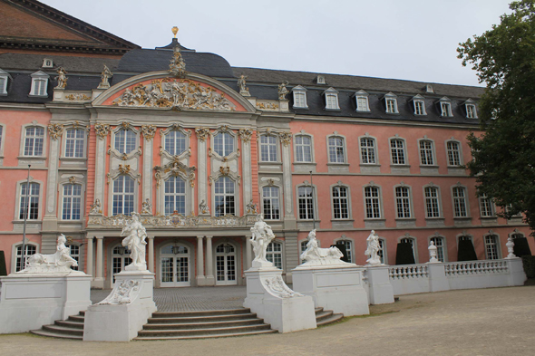The pink Palace of Trier