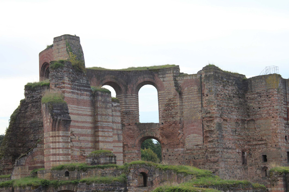 The imperial Roman baths of Trier
