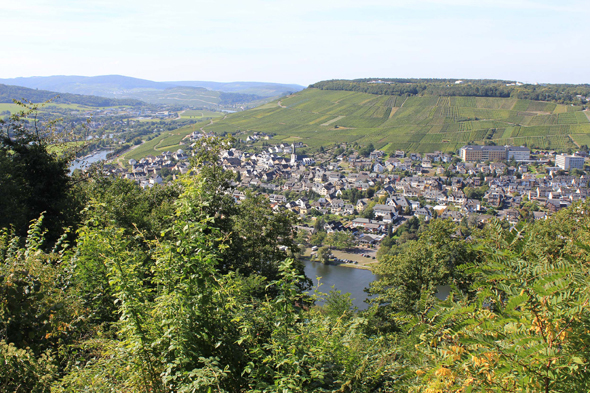 Bernkastel-Kues in the Moselle Valley