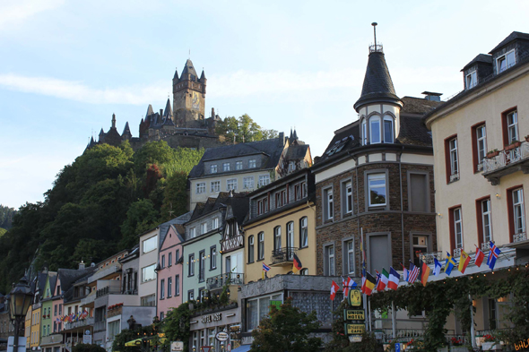 Cochem in the Moselle Valley, Germany