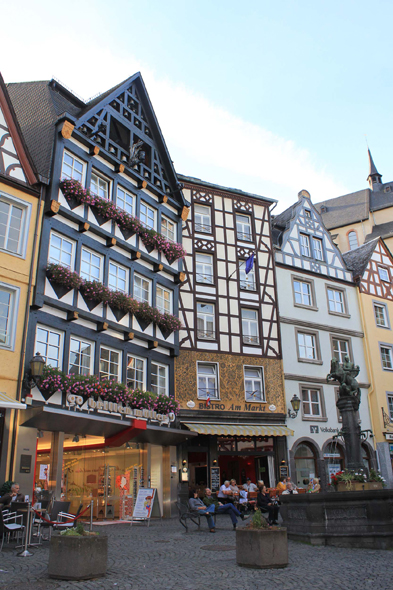 The marketplace of Cochem