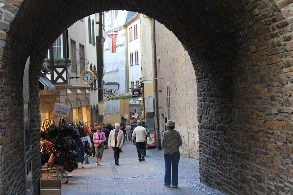 A typical street of Cochem