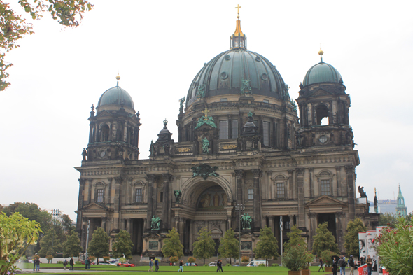 The cathedral Berliner Dom of Berlin