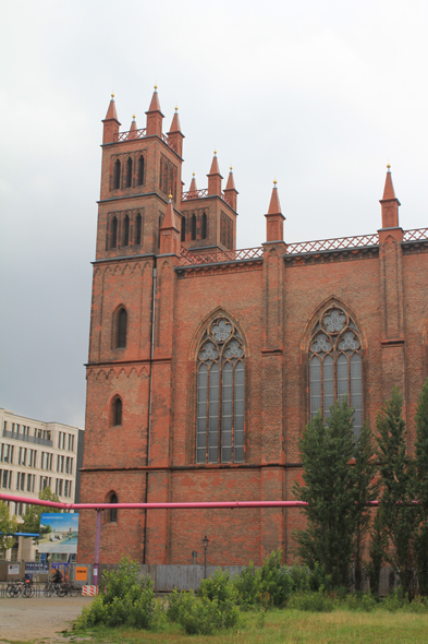 The church Friedrichswerdersche Kirche in Berlin