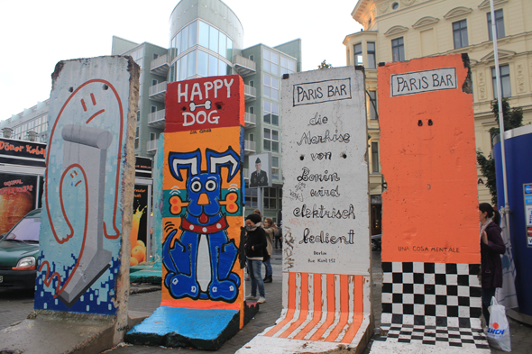 Drawings on the Berlin Wall