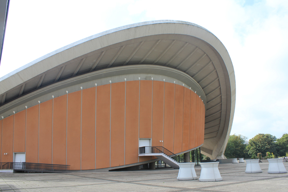 The Haus der kulturen der welt, House of the Cultures of the World in Berlin
