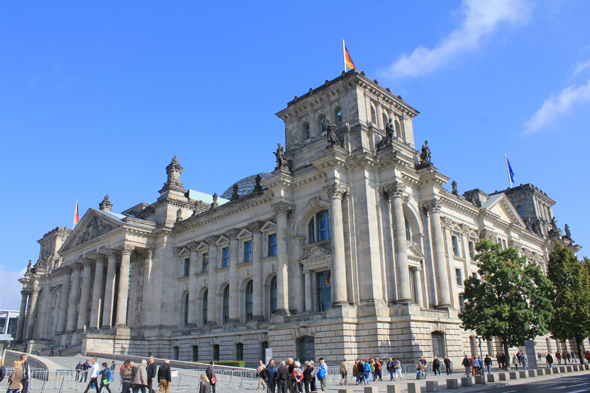 Reichstag palace, Berlin
